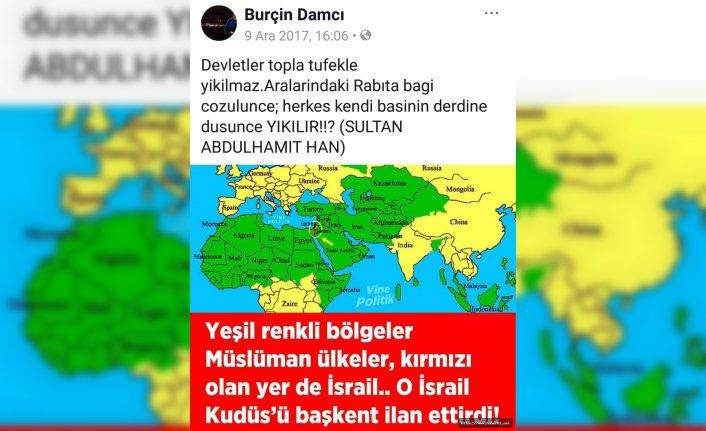 Şırnak şehidinin duygulandıran 'Kudüs' paylaşımı