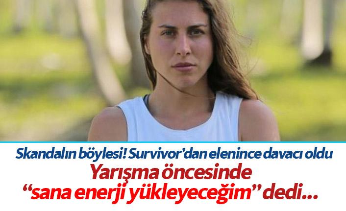 Survivor yarışmacısı Ecem Karaağaç skandalı yaşadı! Enerji verme vaadiyle