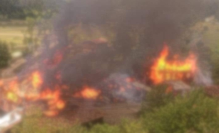 Kastamonu'da yangın!