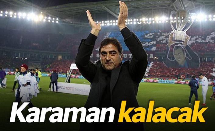 Trabzonspor Karaman ile yola devam edecek