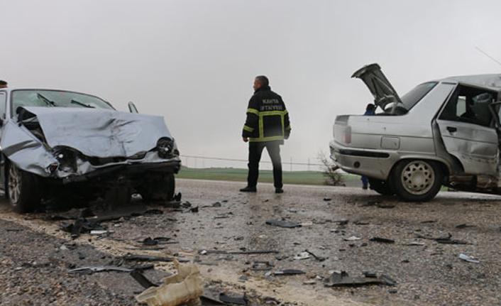 Adıyaman'da feci kaza: 1 ölü 5 yaralı