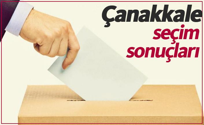 Çanakkale seçim sonuçları / Çanakkale belediye başkanı kim oldu?