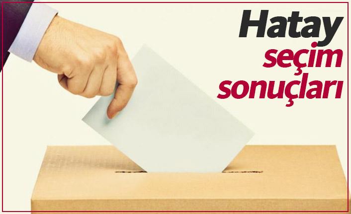 Hatay seçim sonuçları / Hatay yeni belediye başkanı kim oldu?