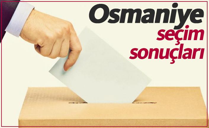 Osmaniye seçim sonuçları / Osmaniye Belediye Başkanı kim oldu?