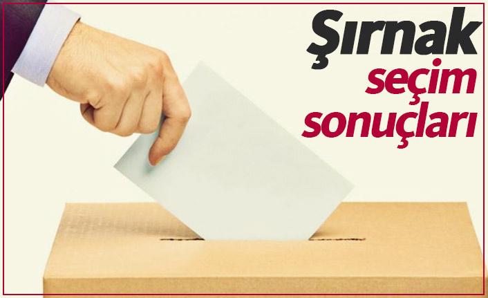 Şırnak seçim sonuçları  / Şırnak Belediye Başkanı kim oldu?
