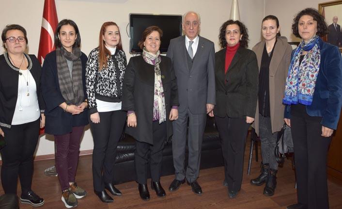 Kadın Girişimciler Kurulu'ndan TTSO'ya ziyaret