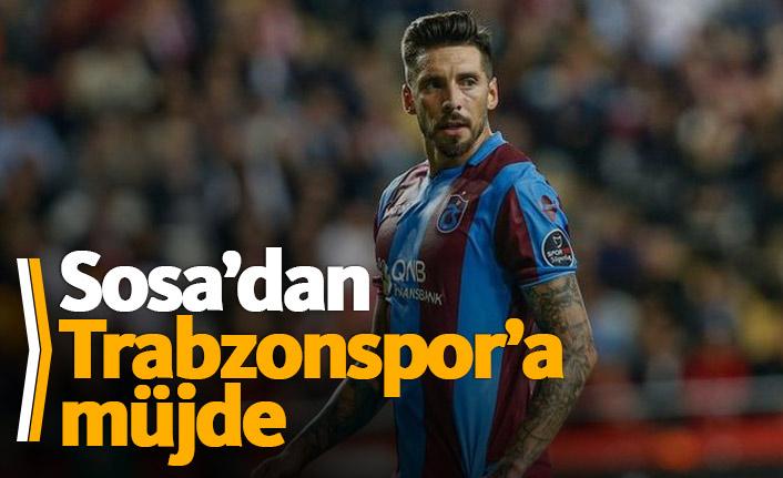 Sosa'dan Trabzonspor'a müjde