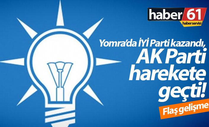 AK Parti'den Yomra için flaş hamle!