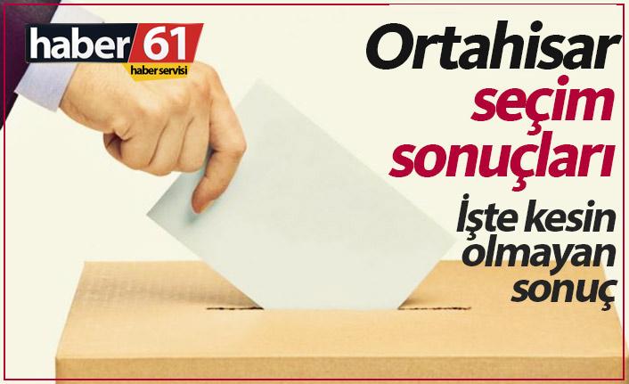 Ortahisar seçim sonuçları / Ortahisar Belediye Başkanı kim oldu?