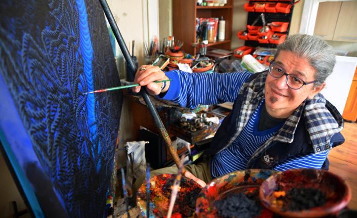 Türk ressamın eserleri ABD'de de sergilenecek