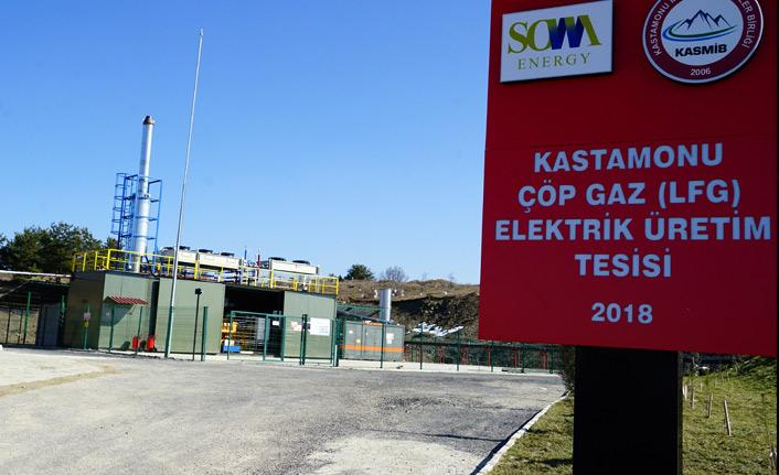 Türkiye' nin en temiz şehrinden toplanan çöpler, elektrik enerjisine dönüştürülüyor