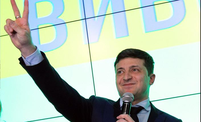 Ukrayna devlet başkanlığı seçiminin ilk tur galibi belli oldu