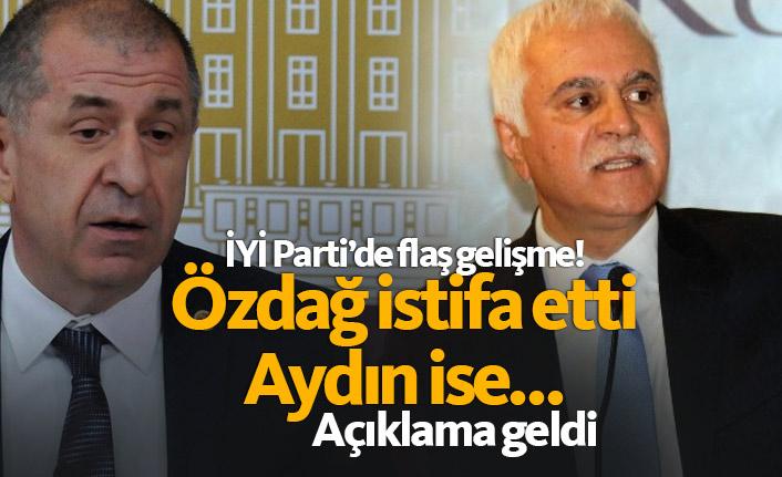 İYİ Parti'de son dakika: Özdağ istifa etti! Koray Aydın ise...