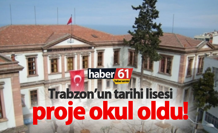Kanuni Anadolu Lisesi proje okulu oldu