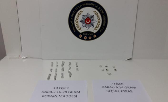Yalova'da uyuşturucu operasyonu: 1 tutuklu