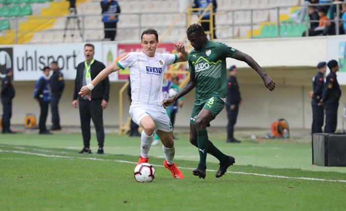 Alanyaspor Bursaspor'u tek golle geçti