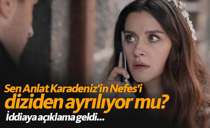 Sen Anlat Karadeniz'den İrem Helvacıoğlu ayrıldı mı? Açıklama geldi