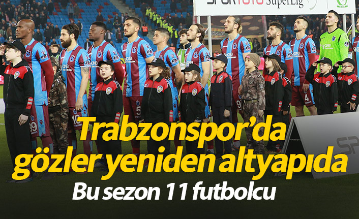Trabzonspor'da hedef altyapıdan yeni isimler çıkarmak