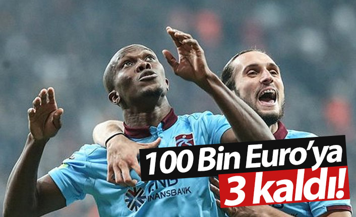 Nwakaeme 100 Bin Euro'yu kapacak