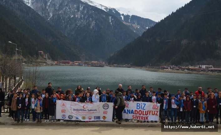 Şanlıurfalı öğrencilere Trabzon'dan muhteşem uğurlama