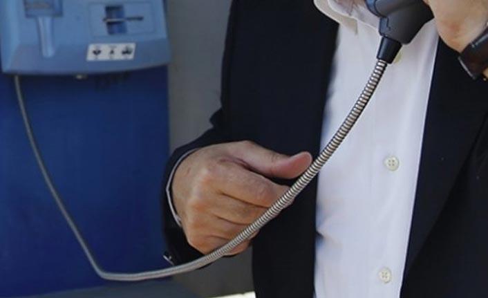 11 ilde 'ankesörlü telefon' operasyonu