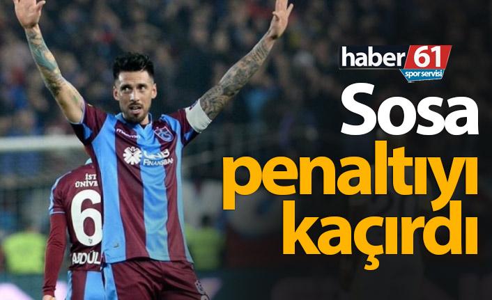 Trabzonspor VAR'dan kazandı Sosa'yla kaybetti!