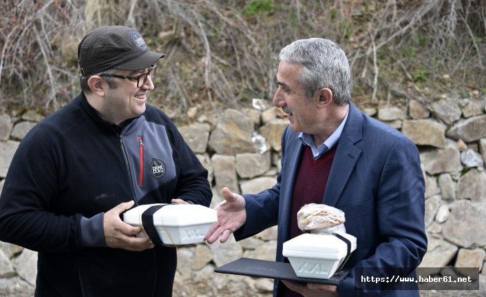 Gümüşhane'den 200 yıllık ekşi maya teste götürüldü