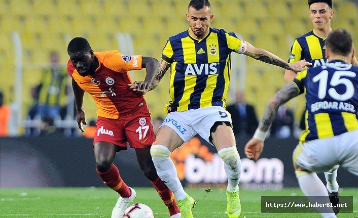 Fenerbahçe: 1 - Galatasaray: 1 (Maç sonucu)