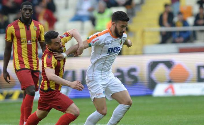 Evkur Yeni Malatyaspor, Aytemiz Alanyaspor ile berabere!