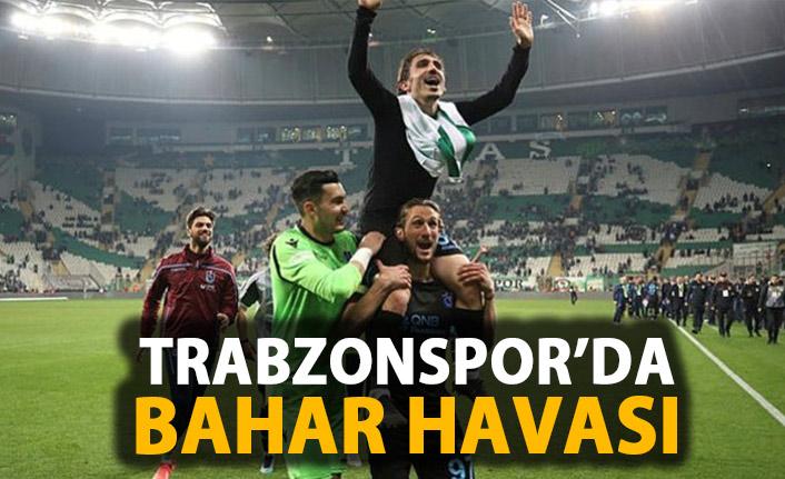 Trabzonspor'da bahar esintisi