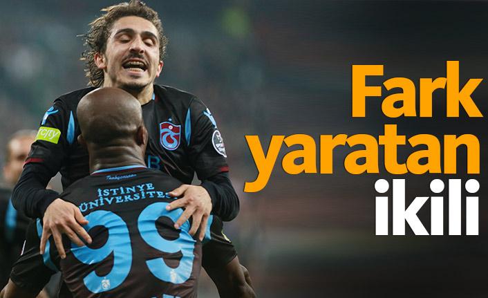 Trabzonspor'da fark yaratan ikili