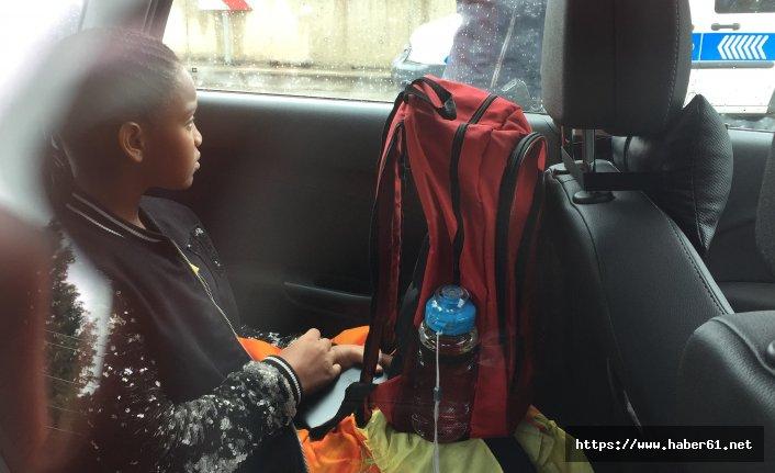 23 Nisan için Türkiye'ye gelen çocuk, kazada yaralandı