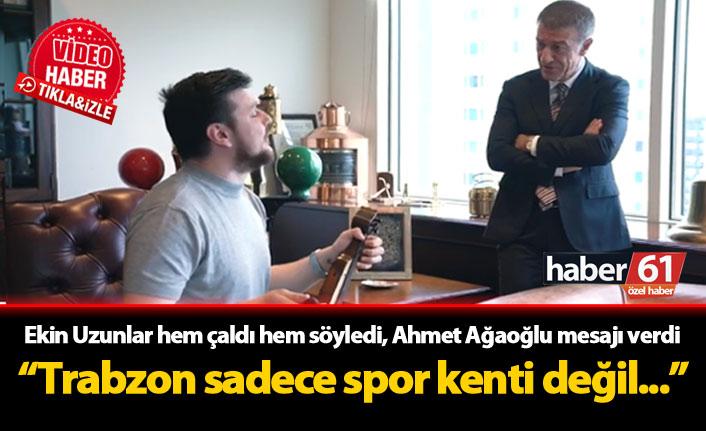 Ahmet Ağaoğlu ve Ekin Uzunlar'dan özel çalışma