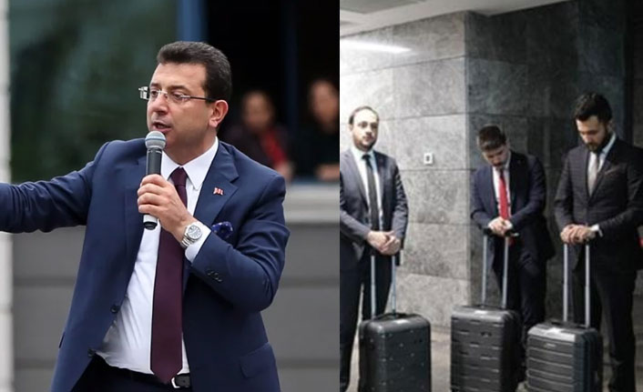 İmamoğlu'ndan AK Parti'ye çok sert bavul göndermesi