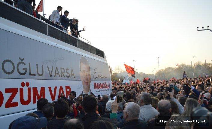 Ekrem İmamoğlu mazbatayı aldı vatandaşlara seslendi: Çocuklarım önünde söz veriyorum!