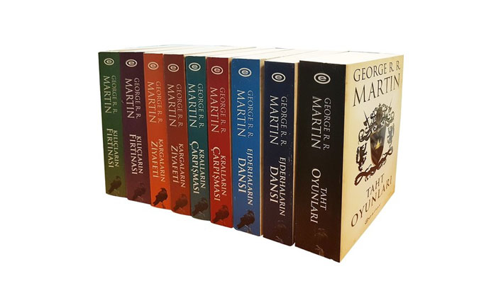 Game of Thrones kitaplarına ilgi yüzde 254 arttı