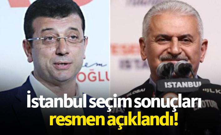 Ve İstanbul seçim sonuçları açıklandı