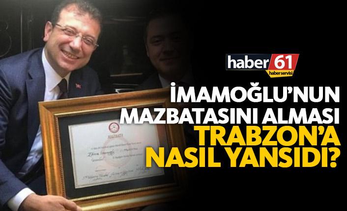 İmamoğlu'nun mazbatasını alması Trabzon'a nasıl yansıdı?