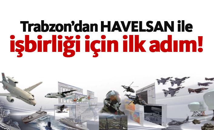 Trabzon'dan HAVELSAN ile işbirliği için adım