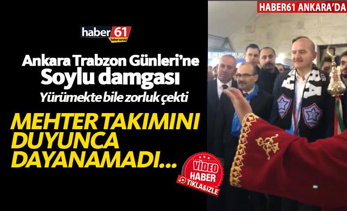 Bakan Süleyman Soylu mehter takımına eşlik etti