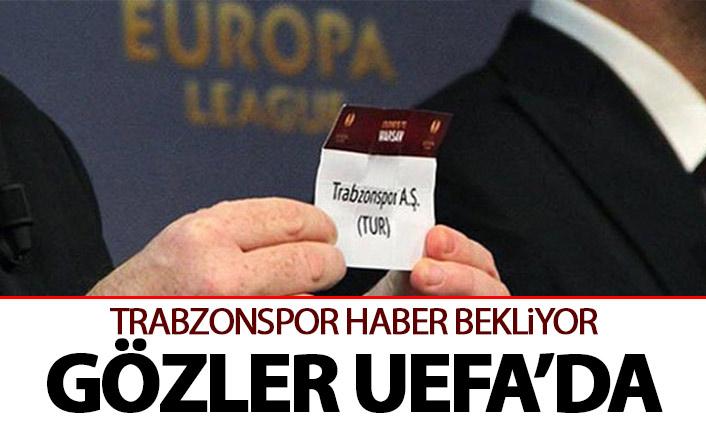 Trabzonspor UEFA'dan haber bekliyor