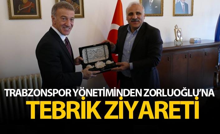 Trabzonspor yönetiminden Zorluoğlu'na tebrik ziyareti