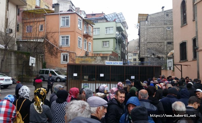 Trabzon'da tanzimde kuyruk var satış yok!