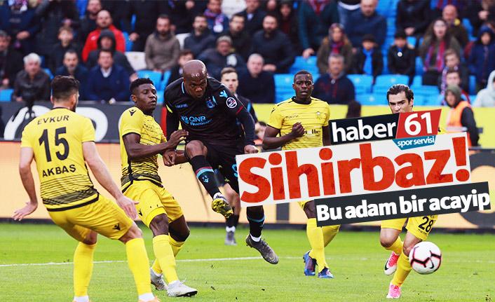 Trabzonspor'da Nwakaeme büyülüyor