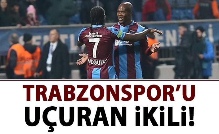 Trabzonspor'u uçuran ikili