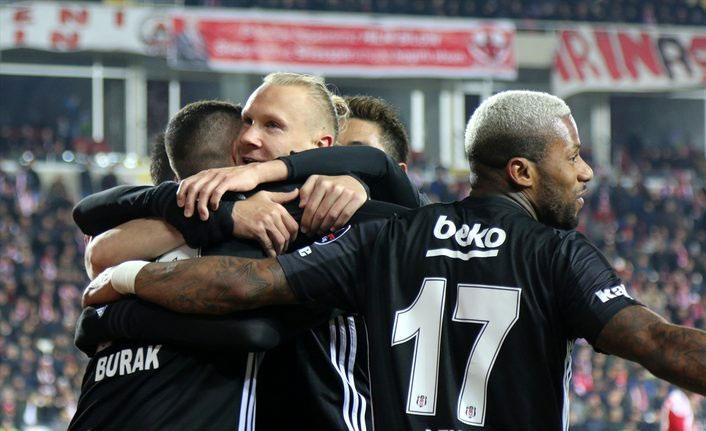 Beşiktaş Sivas'ı yendi