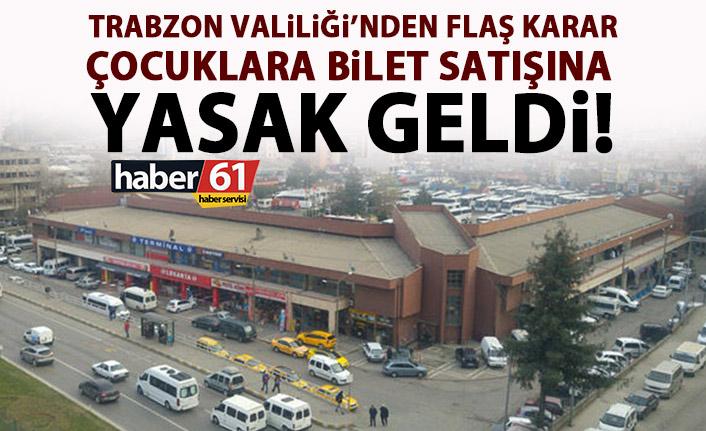 Trabzon'da onlara bilet satan yandı!