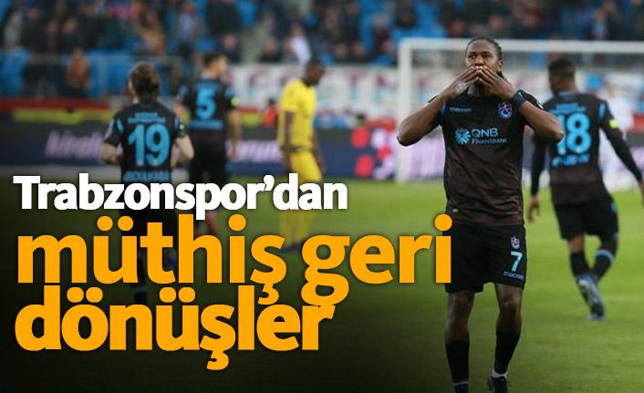 Trabzonspor'dan Akyazı'da müthiş geri dönüşler