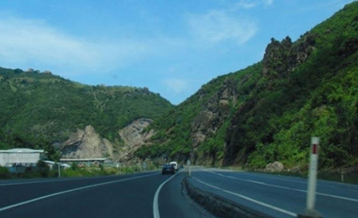 Trabzon Gümüşhane yolunda çalışma - Maçka Torul Devlet Yolu...