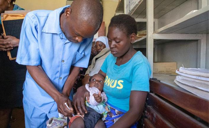 30 yıllık çalışma sonucunda sıtma aşısı uygulanmaya başlandı